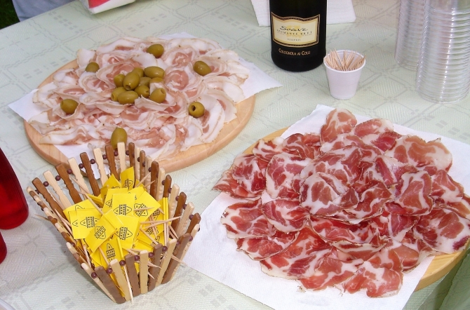 Appetizer or Happy Hour ? - Benvenuto in Salumi Soldati